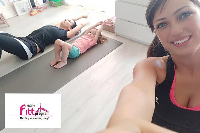 Home tréning - momfitt.hu